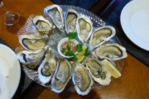 Guided oyster walks and oyster tasting in jersey